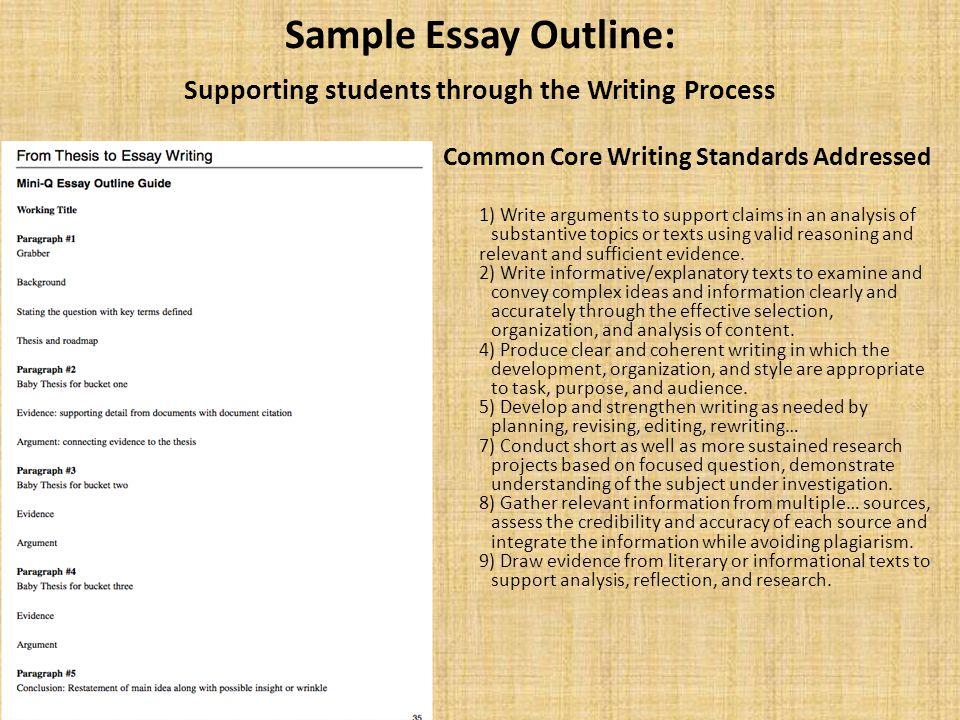 common essay topics