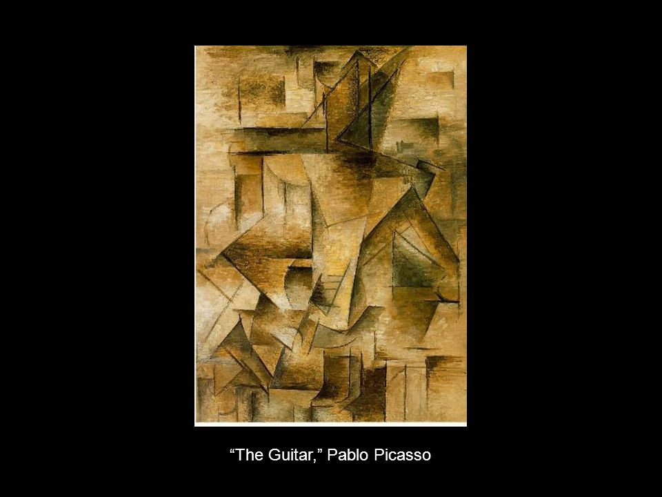 The Guitar, Pablo Picasso