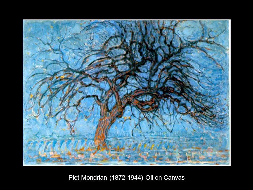 Piet Mondrian ( ) Oil on Canvas