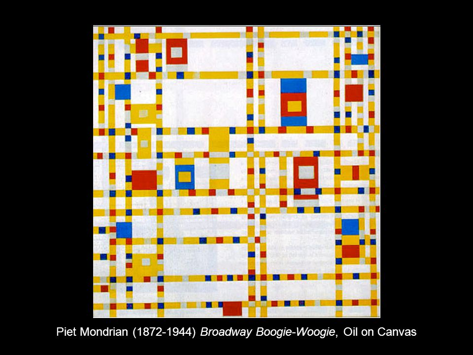 Piet Mondrian ( ) Broadway Boogie-Woogie, Oil on Canvas