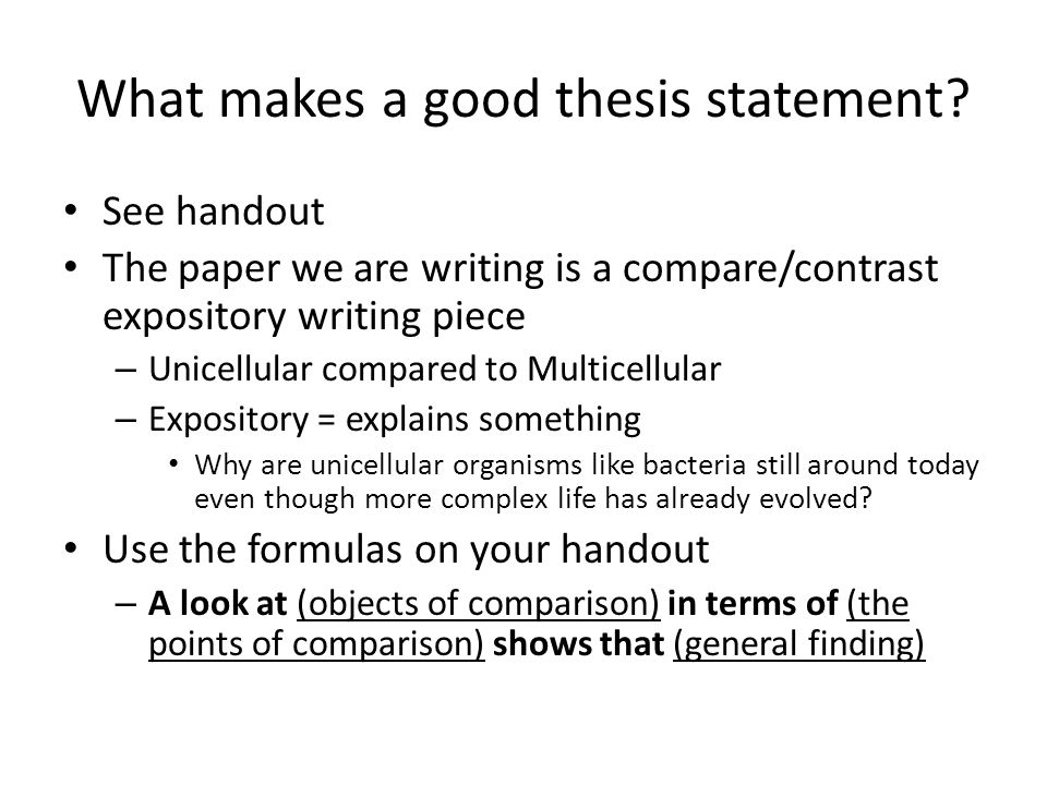 thesis statement the writing center 2 todd atkins ©2008 liberty university online writing center e‐ mail: onlinewriting@libertyedu the role of the thesis statement.