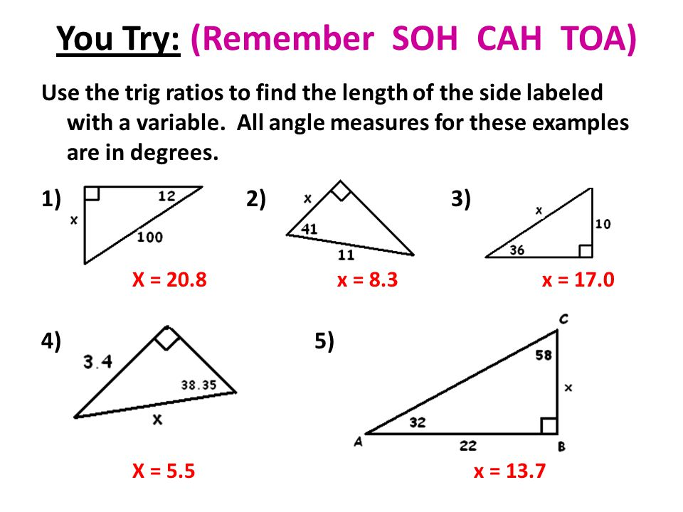 Printables Sine Cosine And Tangent Practice Worksheet Answers printables sohcahtoa worksheet safarmediapps worksheets trigonometry day 1 need class sets 12 set for sleeves today you try