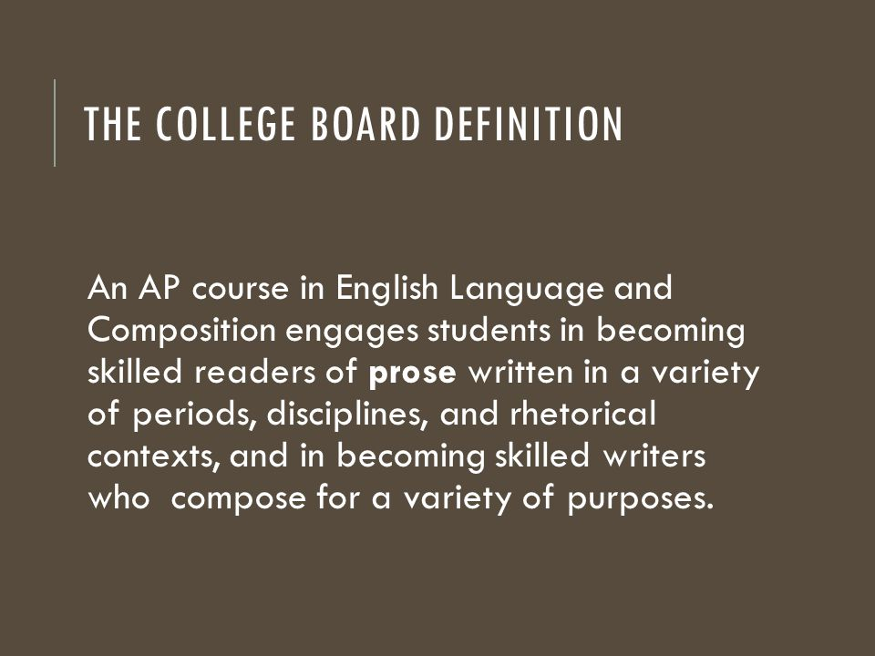 college board essay readers The college board's new essay reverses decades of progress toward literacy by dennis baron those of us who took the sat remember what we got on that test, even if we took it long ago.