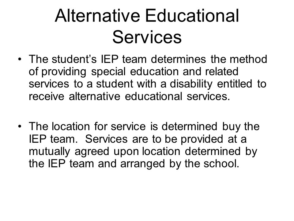 discipline and the pupil fair dismissal act special education