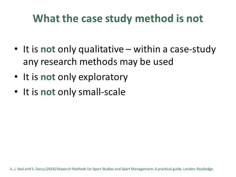 Case Study Method  Case Studies