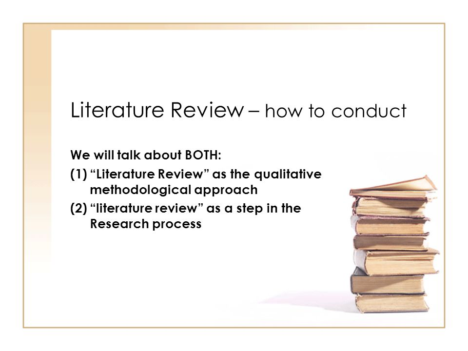 Literature Review In A Research Paper