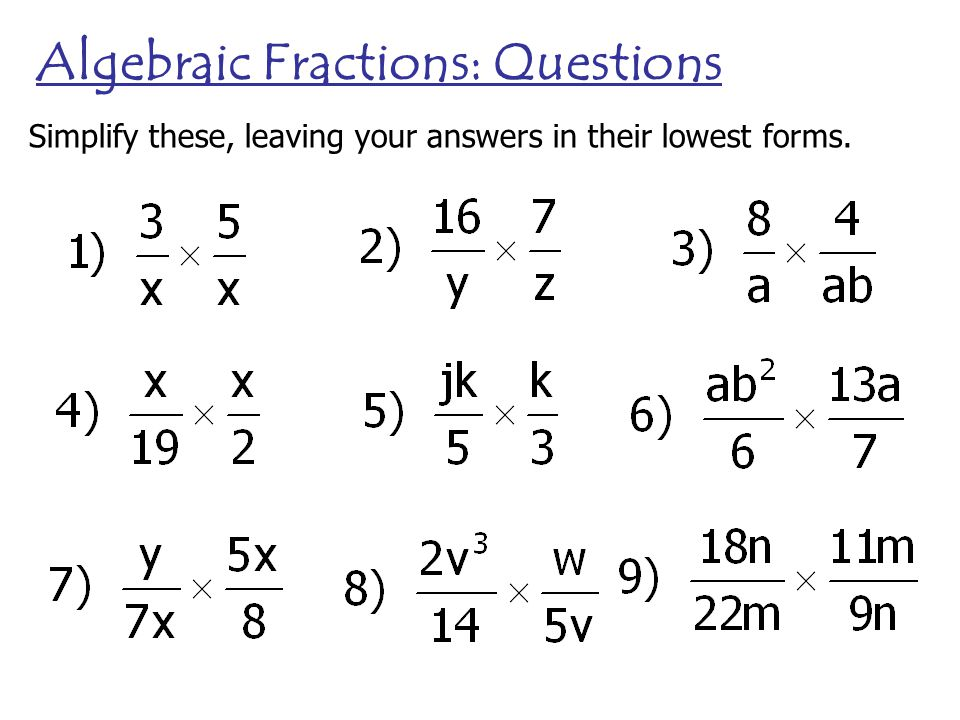 math worksheet : algebraic fractions just as with ordinary fractions you can  : Dividing Algebraic Fractions Worksheet