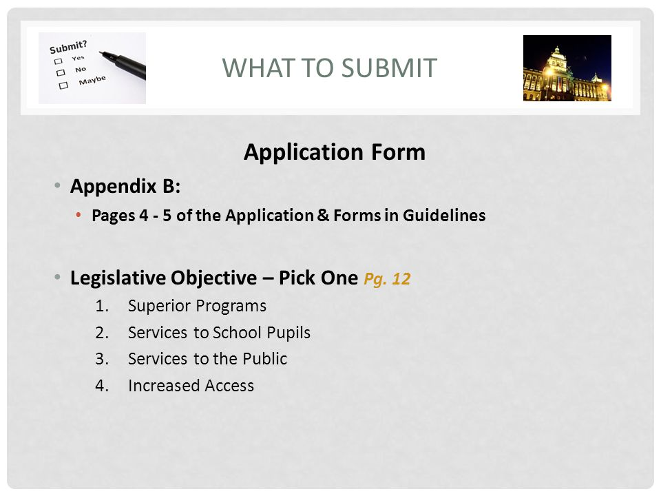 A PROJECT OF THE CALIFORNIA CULTURAL AND HISTORICAL ENDOWMENT – Superior Service Application Form