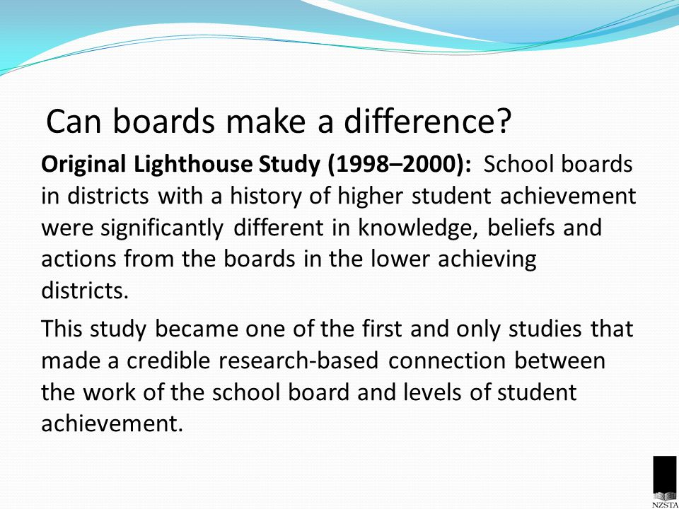 Can boards make a difference.