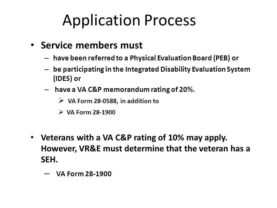 Vocational Rehabilitation & Employment Objective VR&E is an ...