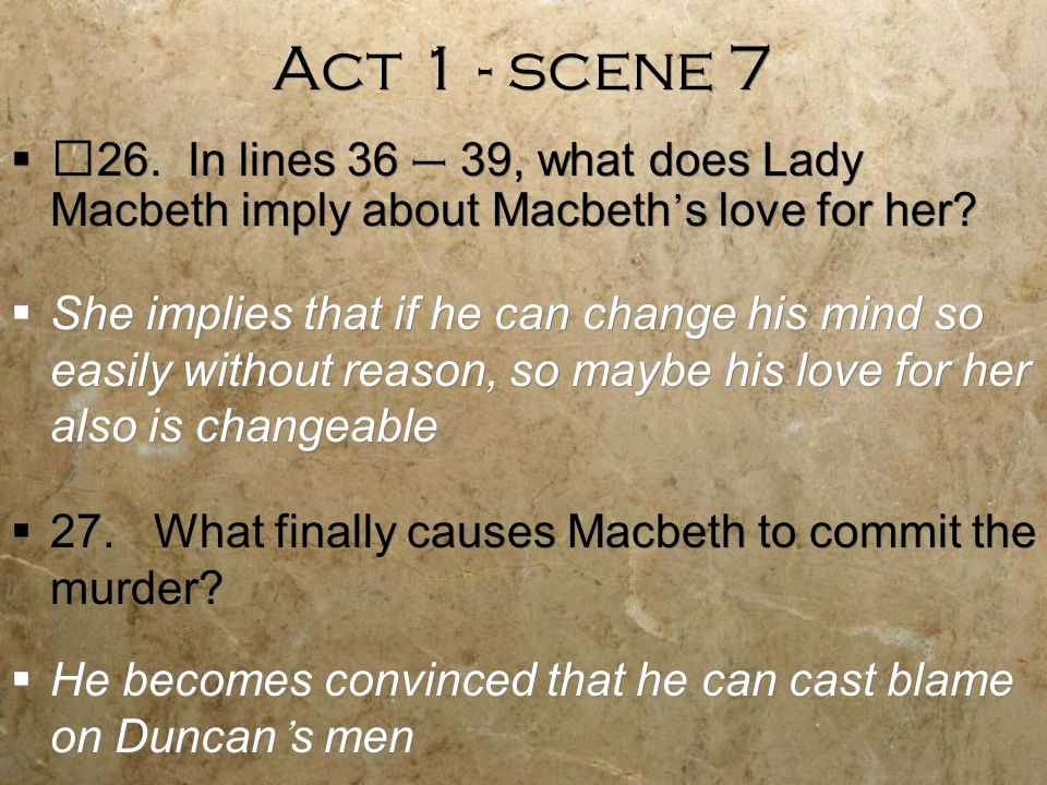 soliloquy analysis of macbeth