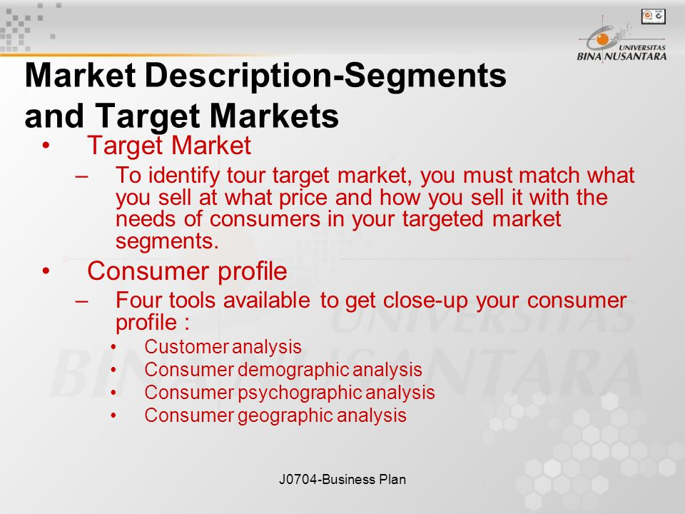JBusiness Plan Market And Competition Session Ppt Download