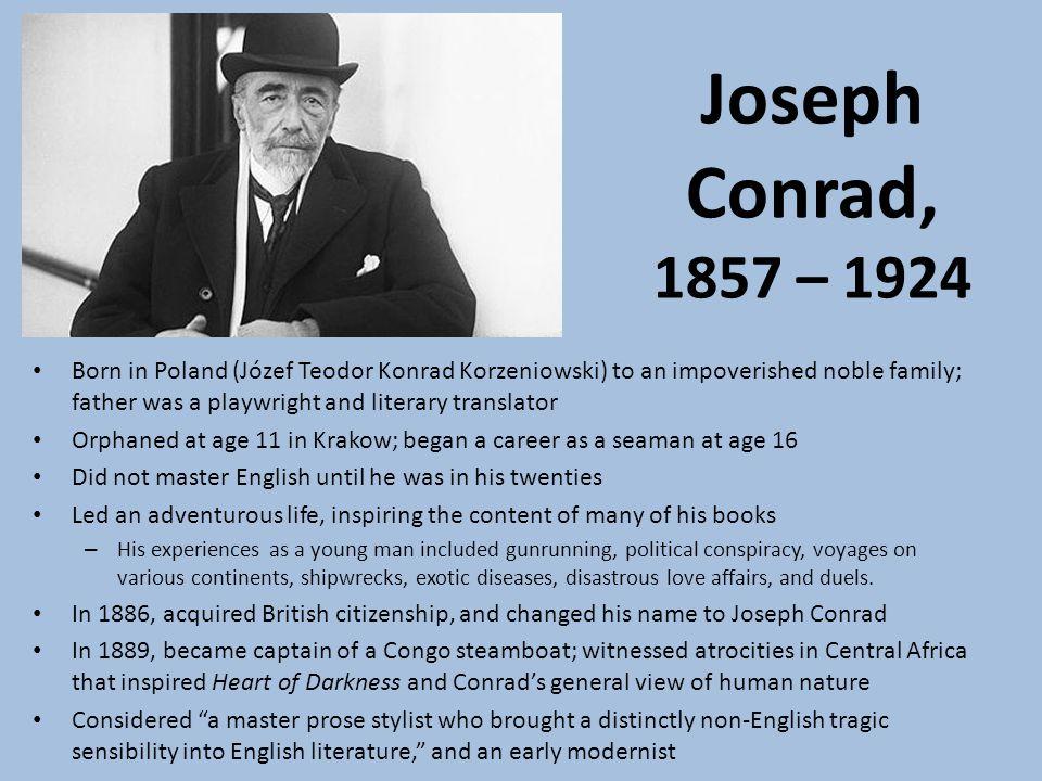 Phd thesis on joseph conrad