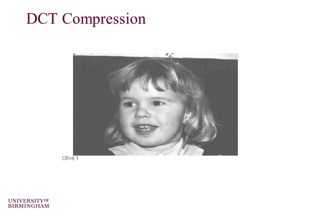 DCT Compression