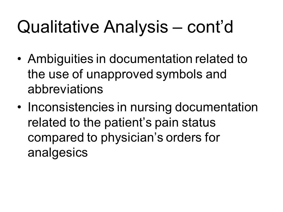 Documentation For Acute Care Chapter 4 Organization And Management