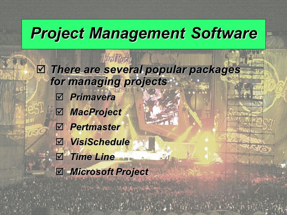 © 2008 Prentice Hall, Inc.3 – 100 Project Management Software  There are several popular packages for managing projects  Primavera  MacProject  Pertmaster  VisiSchedule  Time Line  Microsoft Project