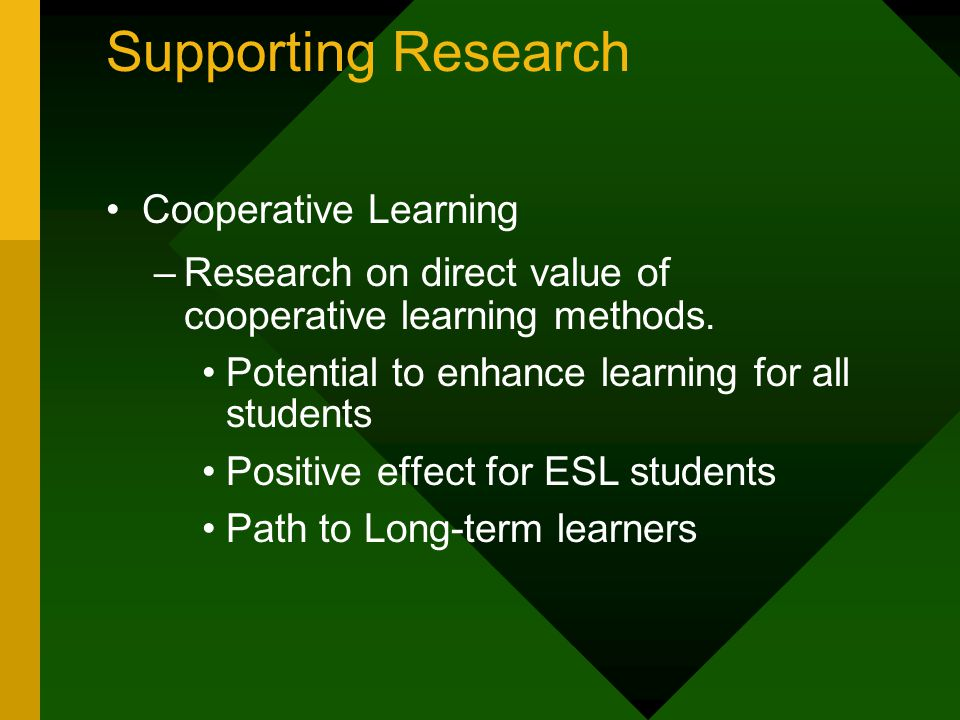 Essentials of Cooperative Learning 3.