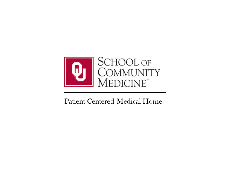 1 Patient Centered Medical Home