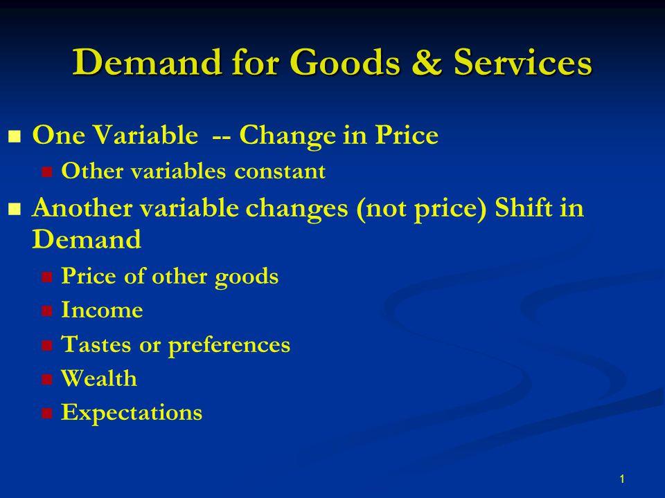 for goods