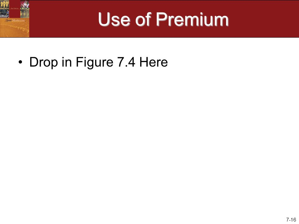 7-16 Use of Premium Drop in Figure 7.4 Here