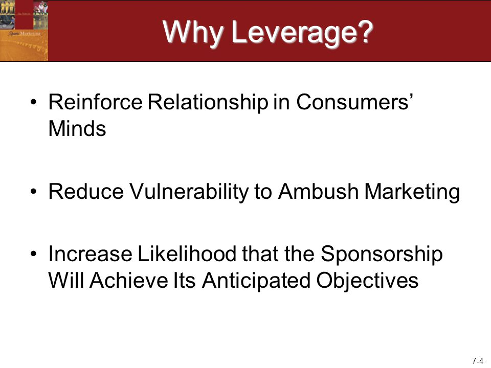 7-4 Why Leverage.