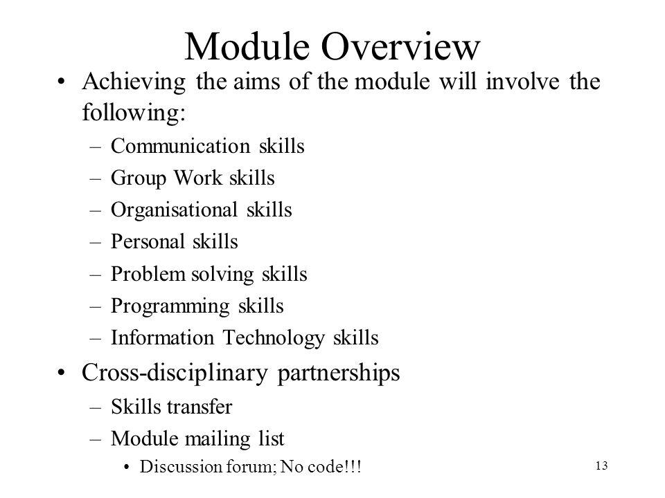 list of organisational skills