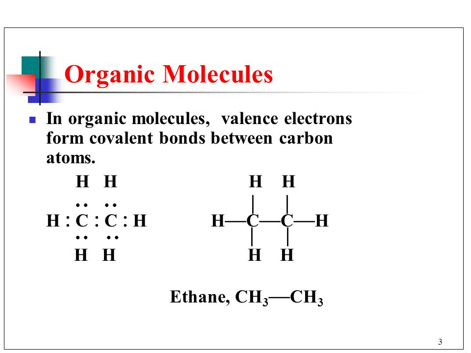 Organic Compounds 11.2 The Tetrahedral Structure of Carbon 11.3 ...