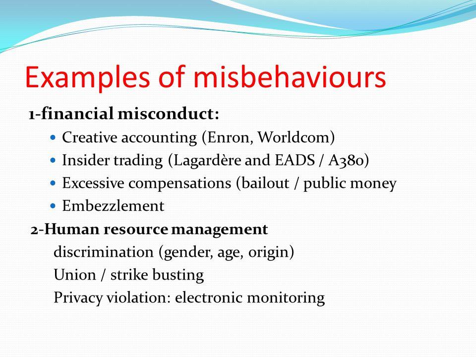 ethics and worldcom