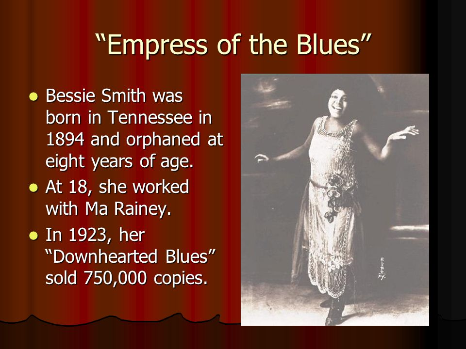 Mother of the Blues Ma Rainey, one of the first female stars, was born into a show business family in Georgia.