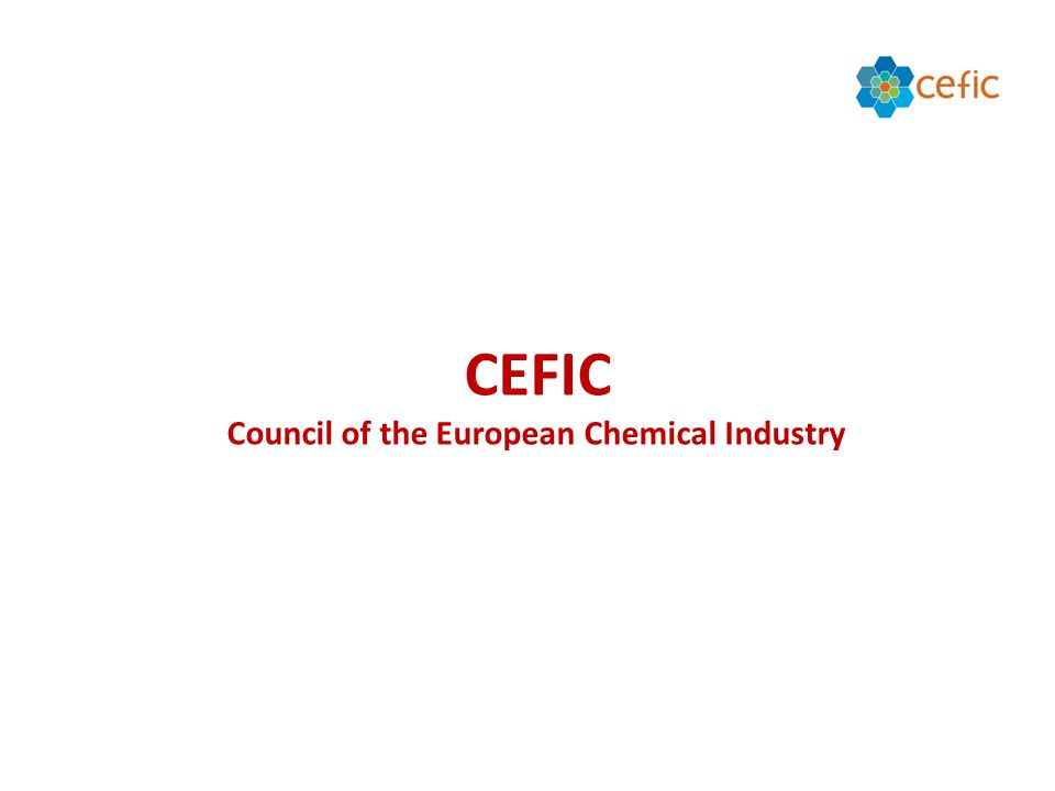 CEFIC Council of the European Chemical Industry