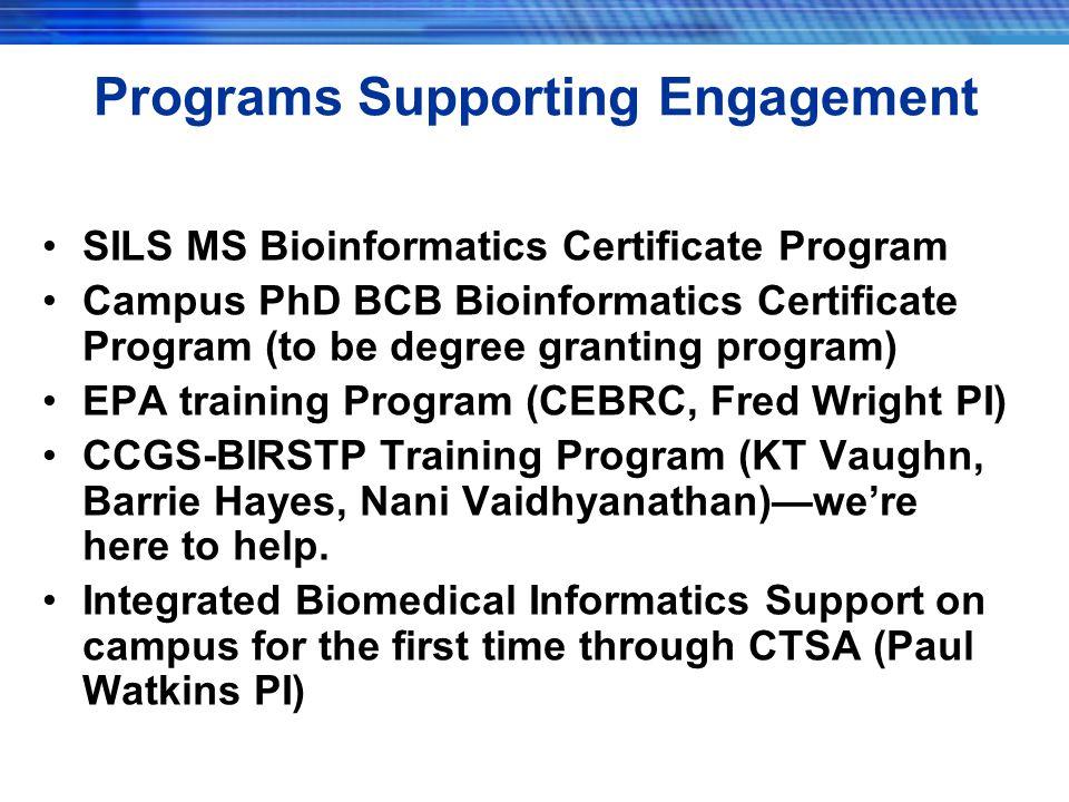 "Presentation ""Bioinformatics Related Research Brad Hemminger bmh ..."