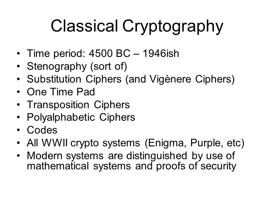 what is cryptography definition the science or study of the  5 classical cryptography