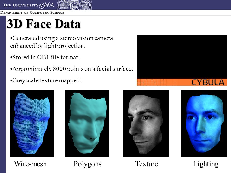 Facial recongnition file format