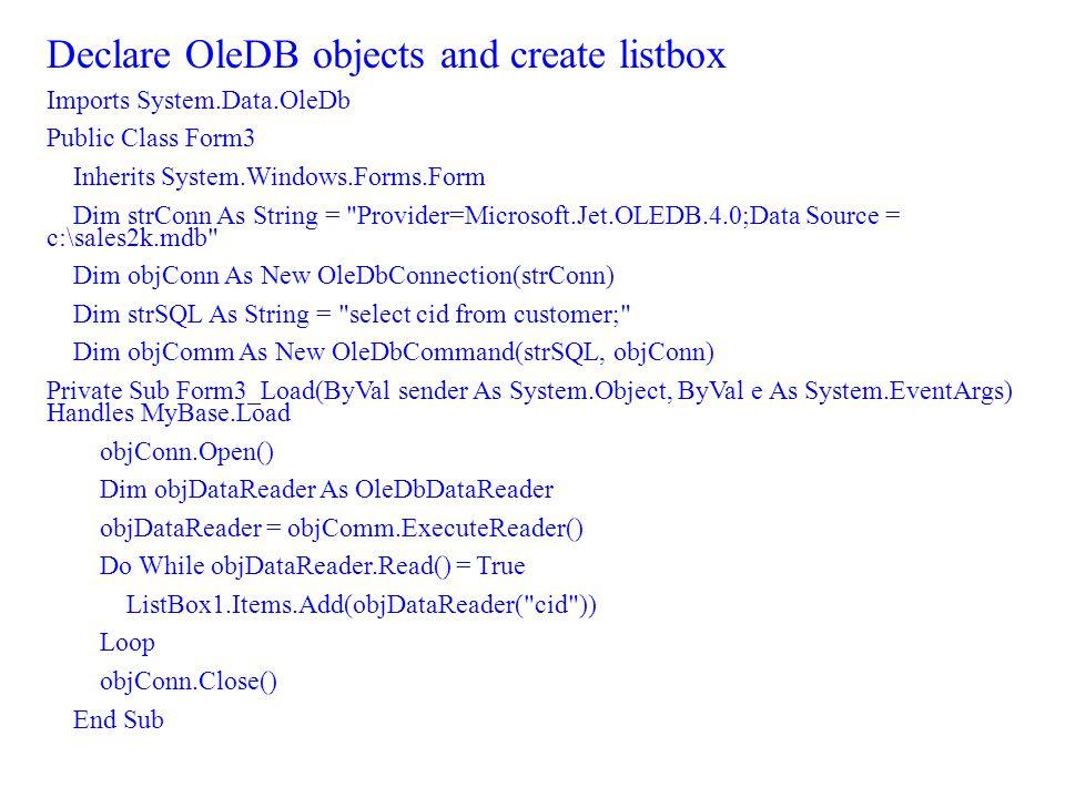 Introduction to ADO.NET. ADO.NET Objects Data Set.NET Applications ...