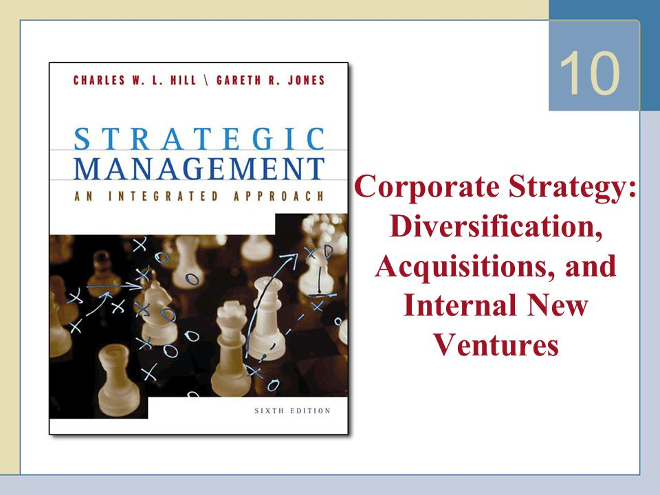 10 Corporate Strategy: Diversification, Acquisitions, and Internal New Ventures