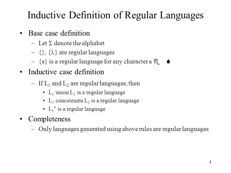 4 4 Inductive Definition ...