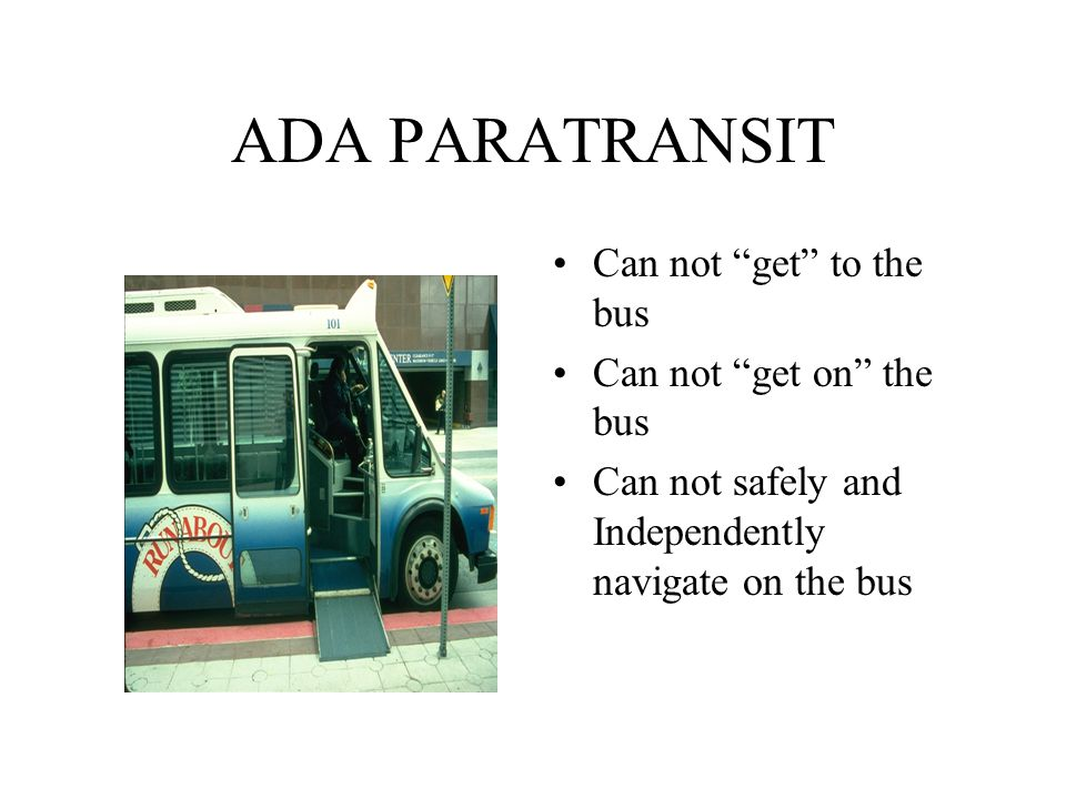 Getting there the vehicle to participation ppt download 19 transit provisions sciox Images