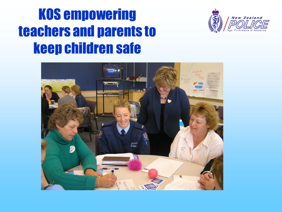 KOS empowering teachers and parents to keep children safe