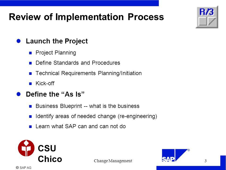 Sap ag csu chico change management1 change management final stages 3 malvernweather Choice Image