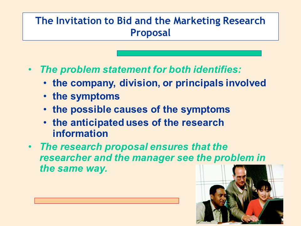 Research proposal of a company