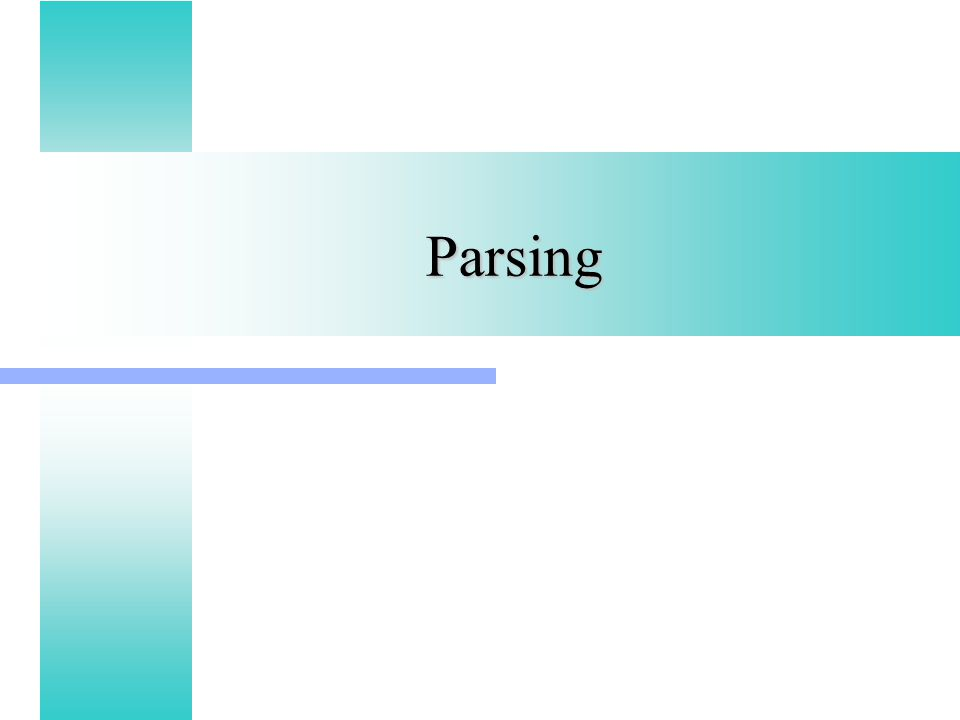 Parsing parsing calculate grammatical structure of program like 1 parsing ccuart Images