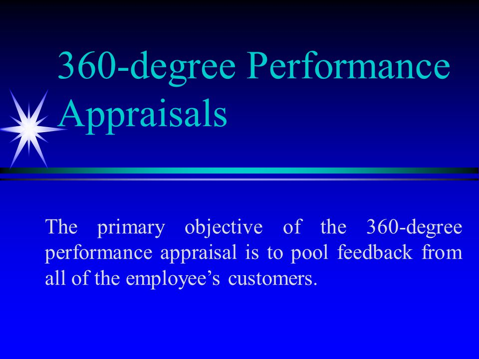 Chapter Degree Performance Appraisals Problems In Performance