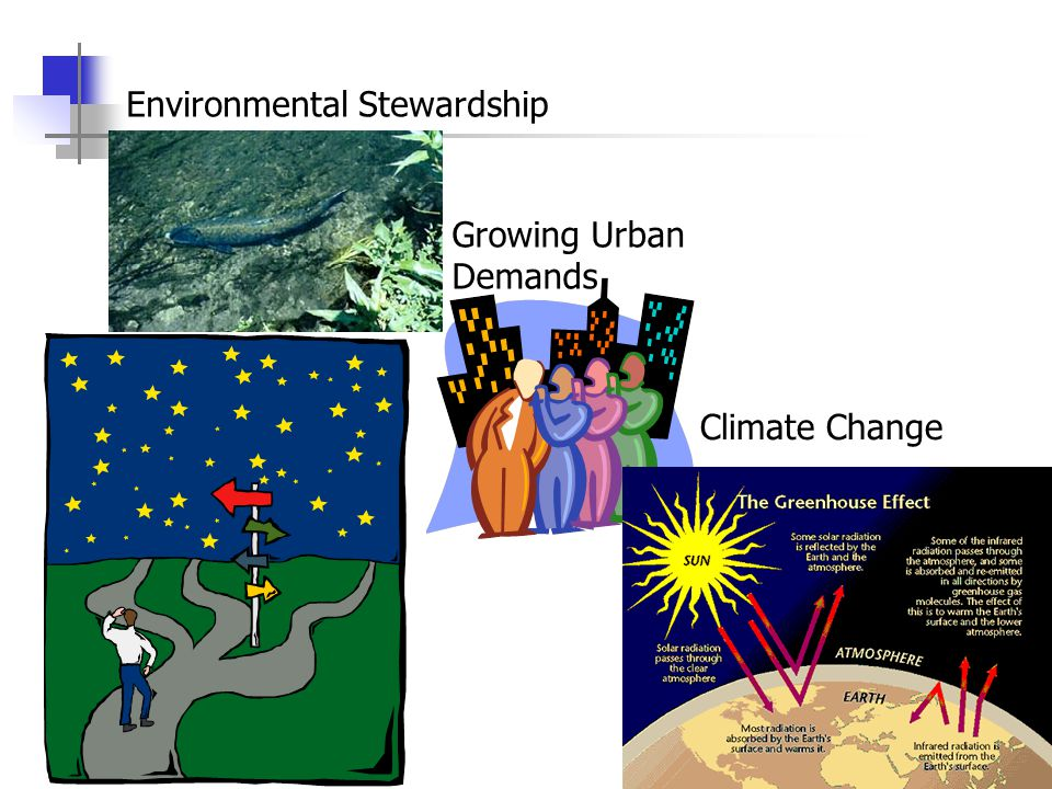 Environmental Stewardship Growing Urban Demands Climate Change