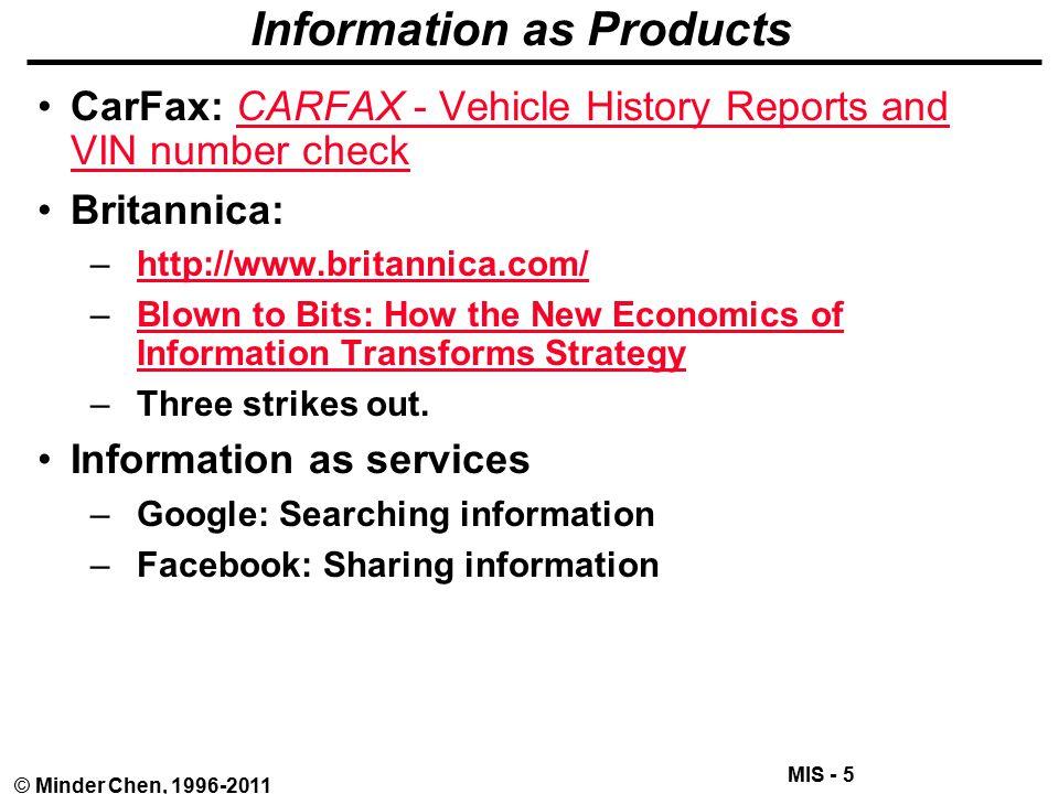 MIS 310: Management Information Systems Minder Chen, Ph.D ...