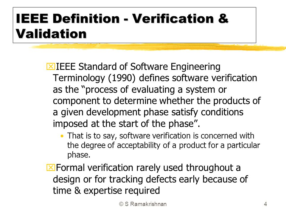 Validating the acceptability of a software product