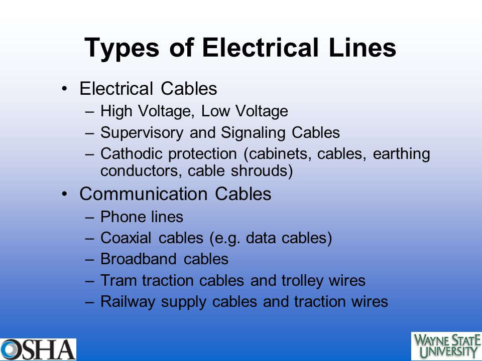 Module 4: Overhead and Underground Power Lines. Overview of Module 4 ...