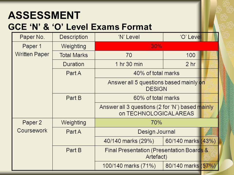o level english essay