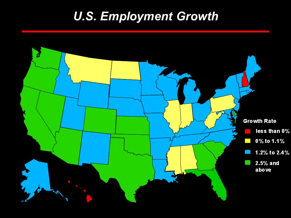 Rosen Consulting Group U.S. Employment Growth
