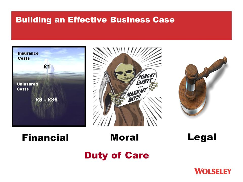 Moral Financial Duty of Care Legal Building an Effective Business Case