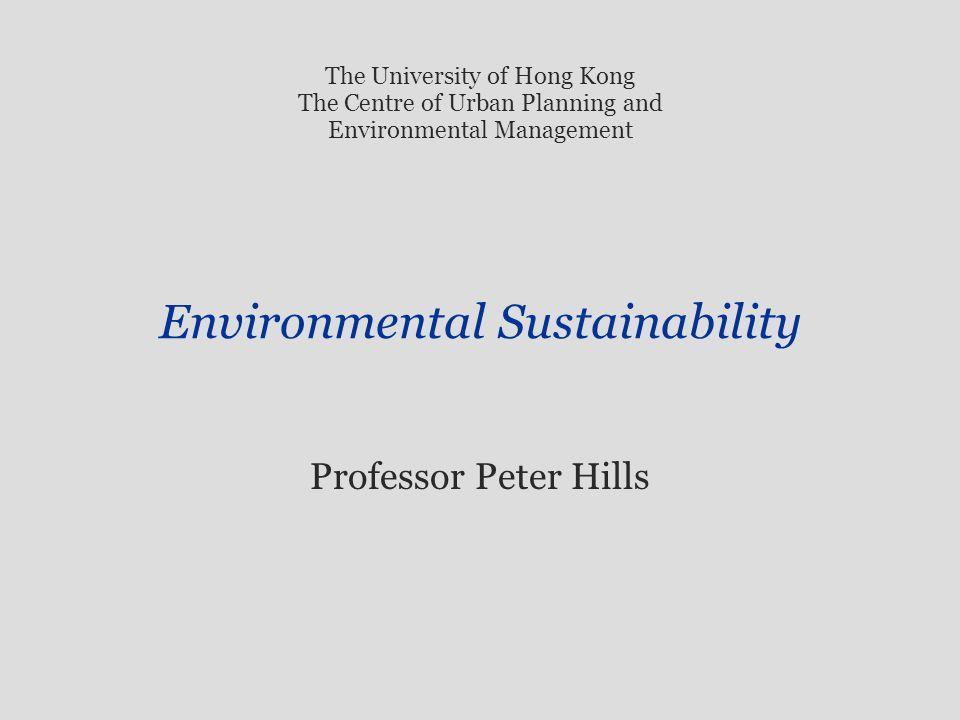 professor environmental planning